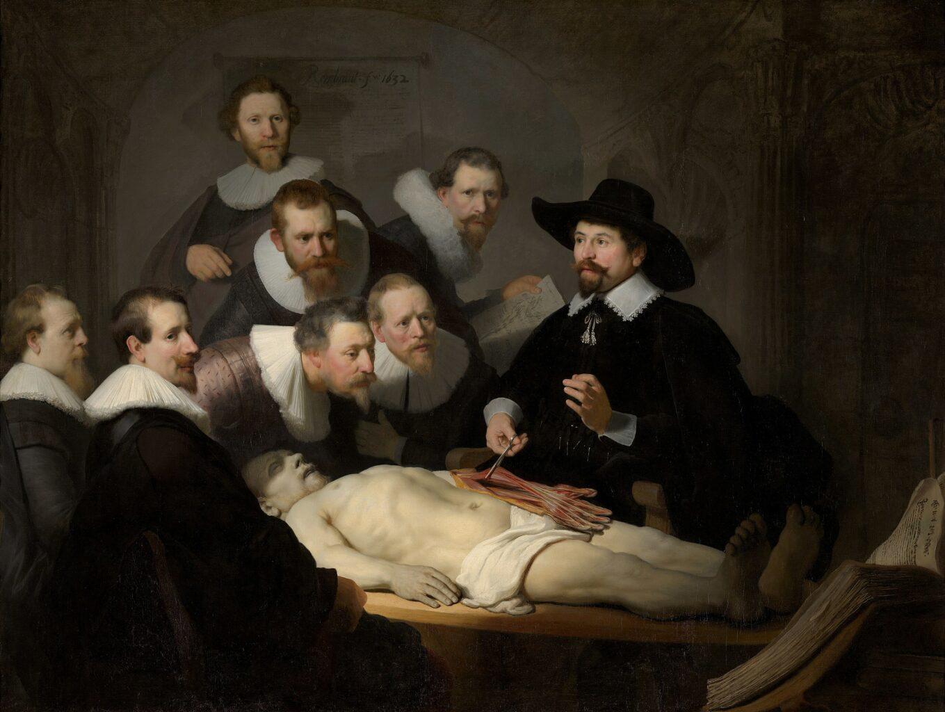 Rembrandt van Rijn - De Anatomische Les van Dr. Nicolaes Tulp