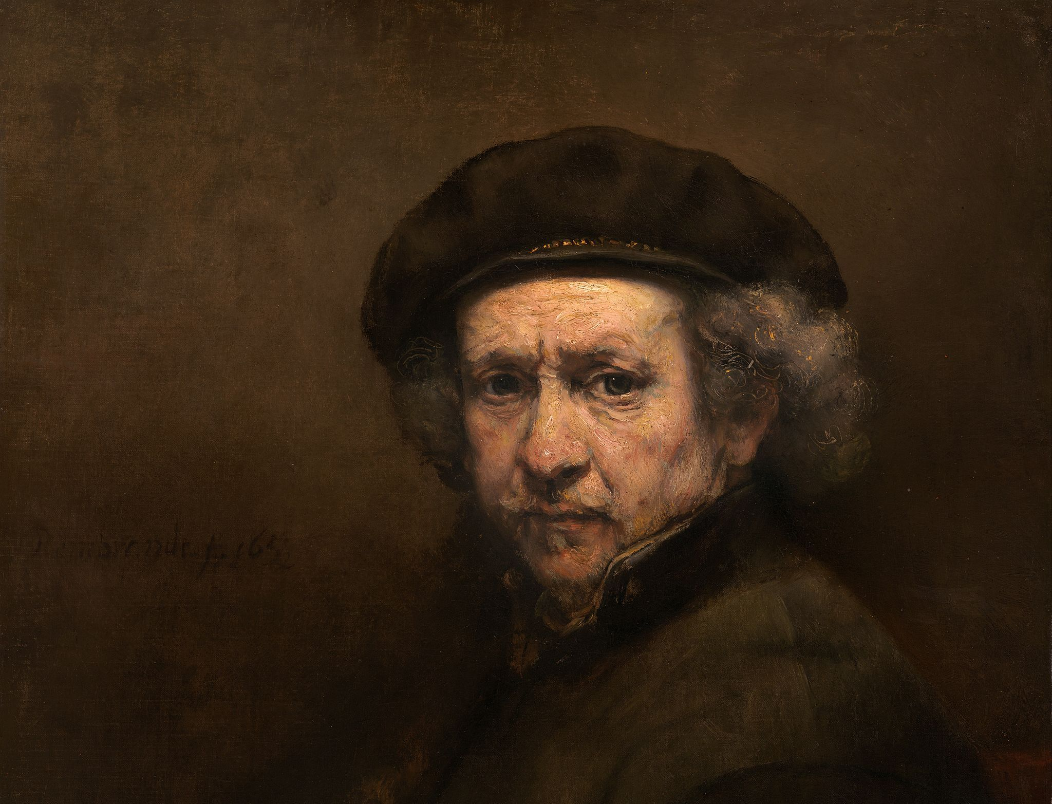 Zelfportret van Rembrandt