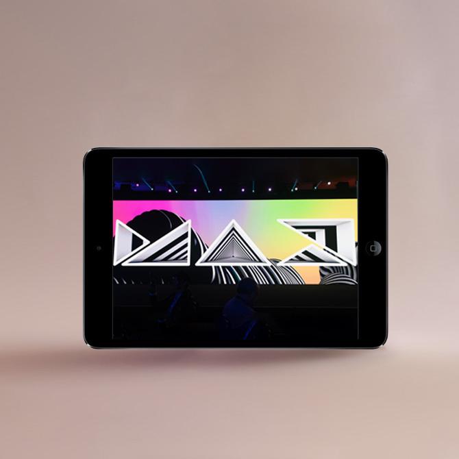Adobe Max 2020 op de iPad